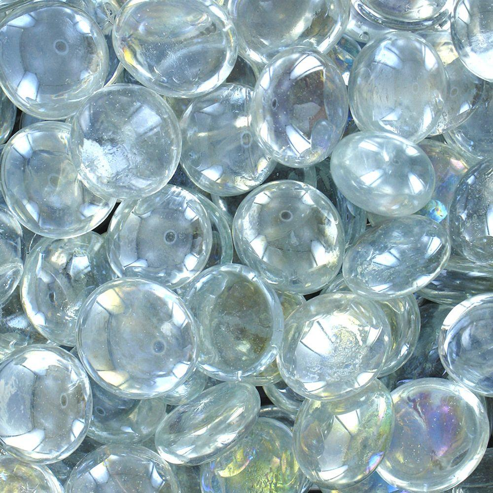 Akasha 9 lb clear iridescent glass gems 3 lb bags ggclirhd the clear iridescent glass gems 3 lb bags reviewsmspy