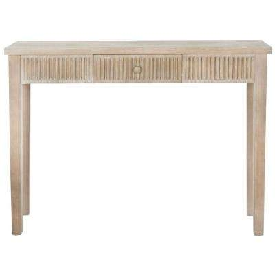 Beale Gray Storage Console Table