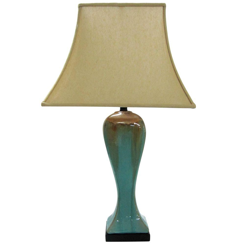 Yosemite Home Decor Portable Lamp Series 30 in. Beige Table Lamp-DISCONTINUED
