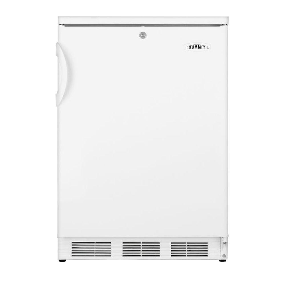 Summit Appliance 5.5 cu. ft. Compact All-Refrigerator with Lock