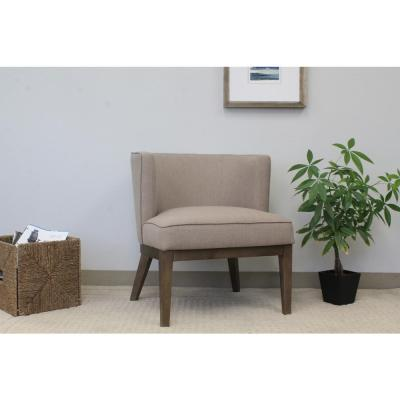 Beige Ava Accent Chair