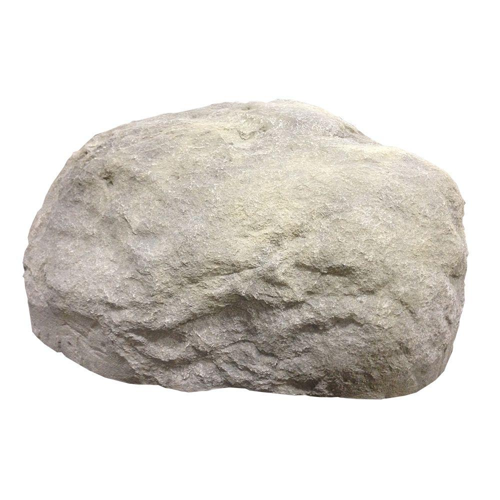 null 47 in. L x 41 in. W x 22 in. H Large Imitation Landscape Boulder