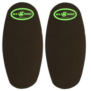 Magnee Black Standard Strapless Magnetic Attaching Knee Pads by Magnee