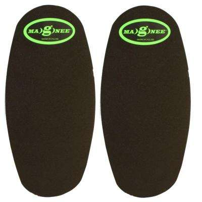 Black Standard Strapless Magnetic Attaching Knee Pads