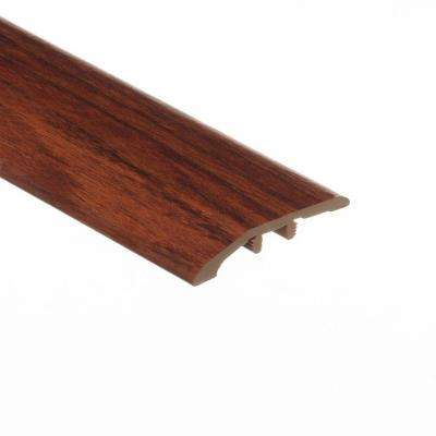 Brazilian Cherry 5/16 in. Thick x 1-3/4 in. Wide x 72 in. Length Vinyl Multi-Purpose Reducer Molding