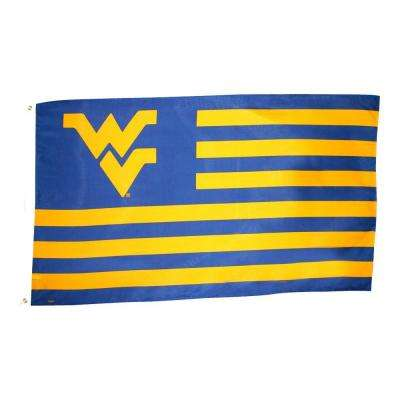 3 ft. x 5 ft. Polyester West Virginia Flag