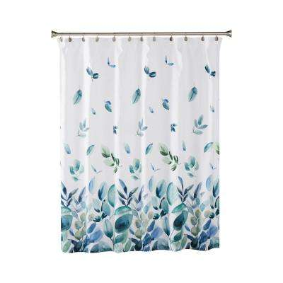 Ontario 72 in. Green Shower Curtain