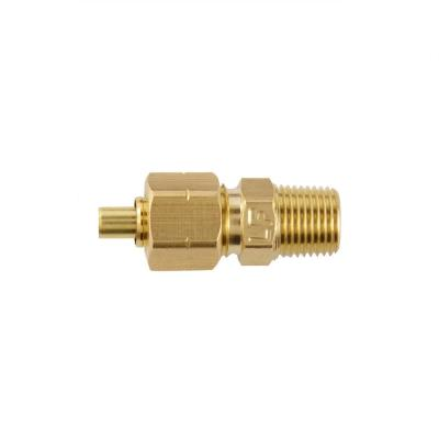 1/4 in. OD Compression x 1/8 in. MIP Brass Adapter Fitting