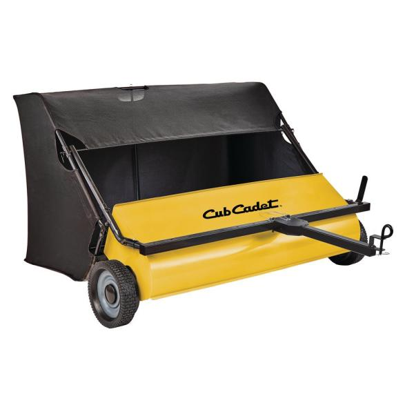 46 in. 24 cu. ft. Lawn Sweeper