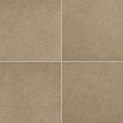 Petra Beige 24 in. x 24 in. Matte Porcelain Paver Tile (14 pieces / 56 sq. ft. / pallet)