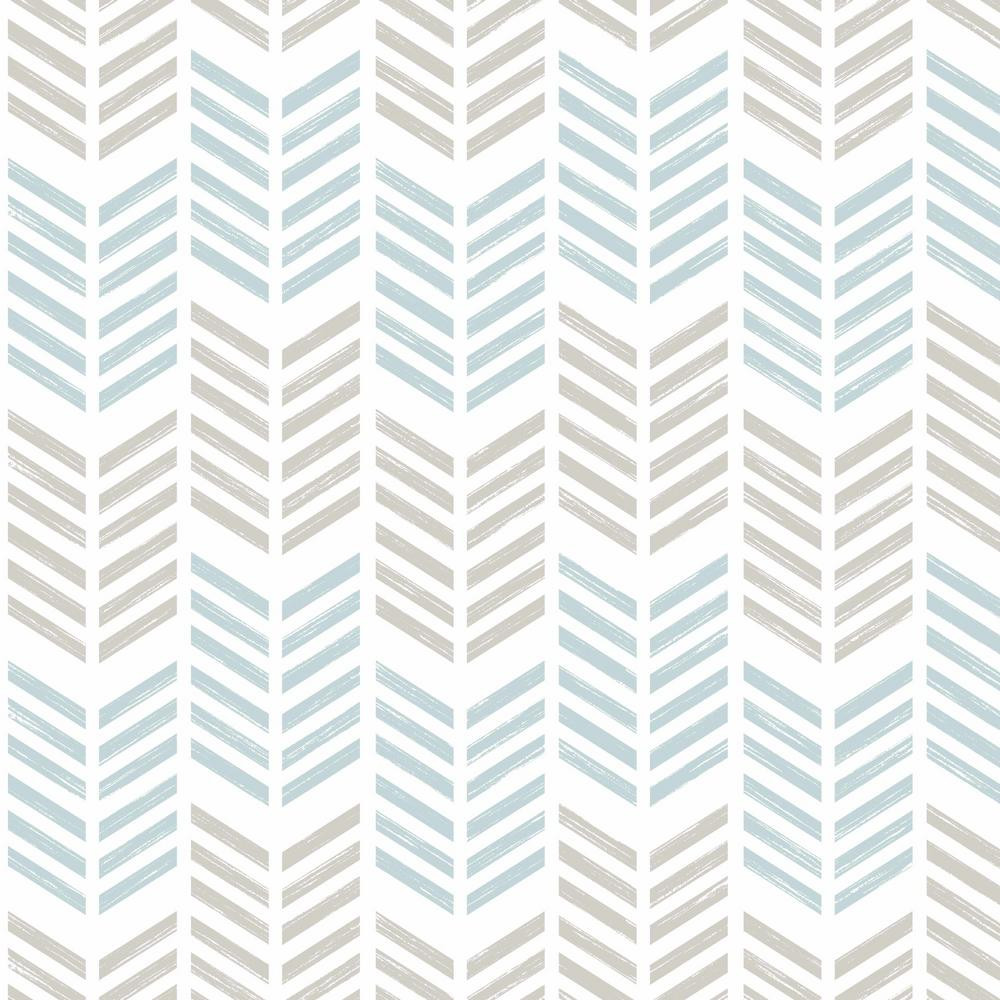 Graham Brown Symmetry Oiti Blue Removable Wallpaper