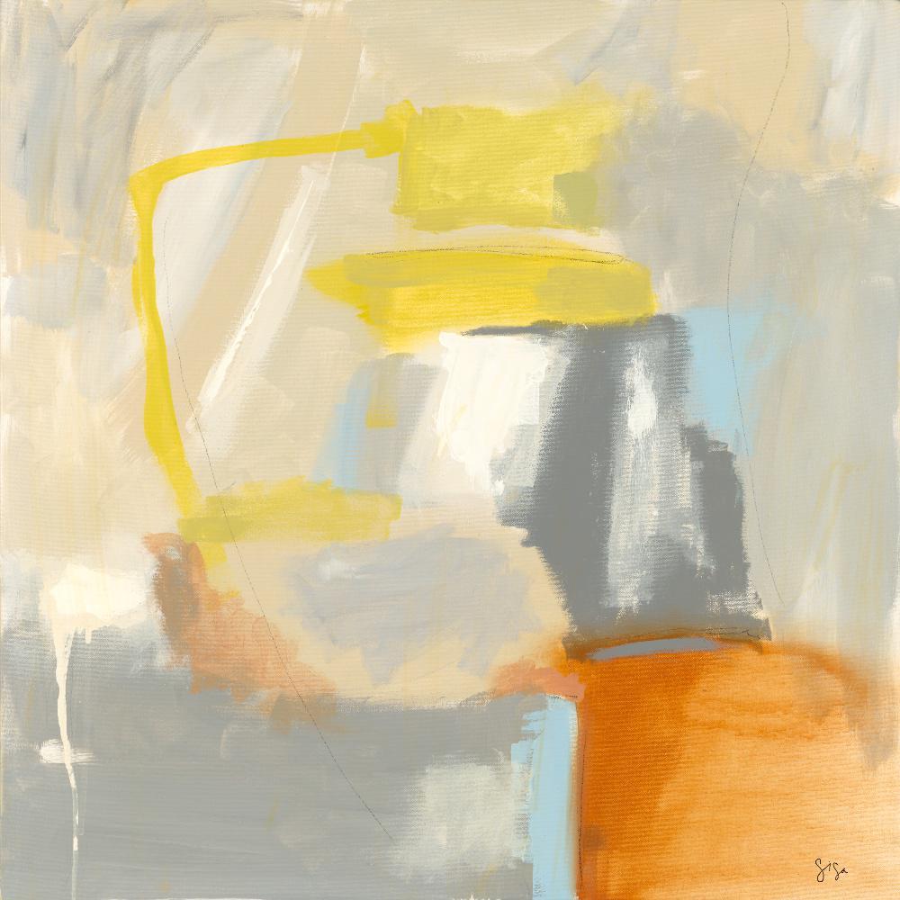 """72 in. x 72 in. """"Sacred I"""" by Sisa Jasper Canvas Wall Art"""