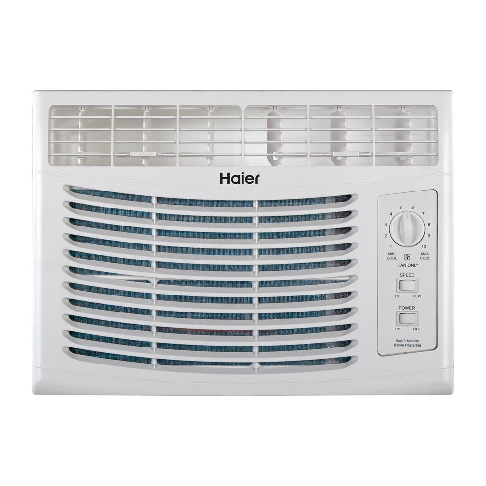 5,000 BTU Window Air Conditioner Only in White