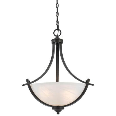 Warna 3-Light Bronze Pendant