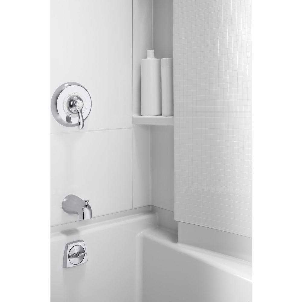 X 60 In 74 Bath And Shower Kit