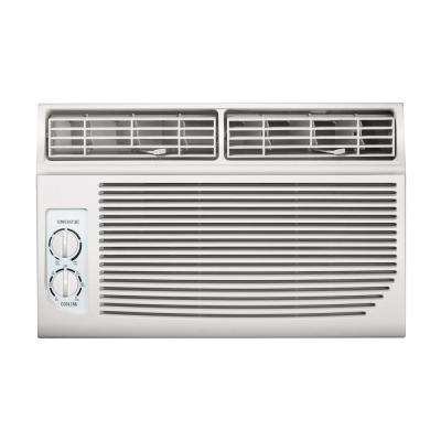 6,000 BTU 115-Volt Mechanical Controlled Mini Window Air Conditioner