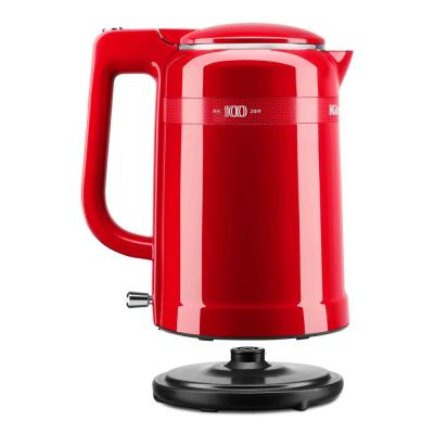 KitchenAid-100-Year Limited Edition Queen of Hearts 6.3-Cup Passion Red Electric Kettle