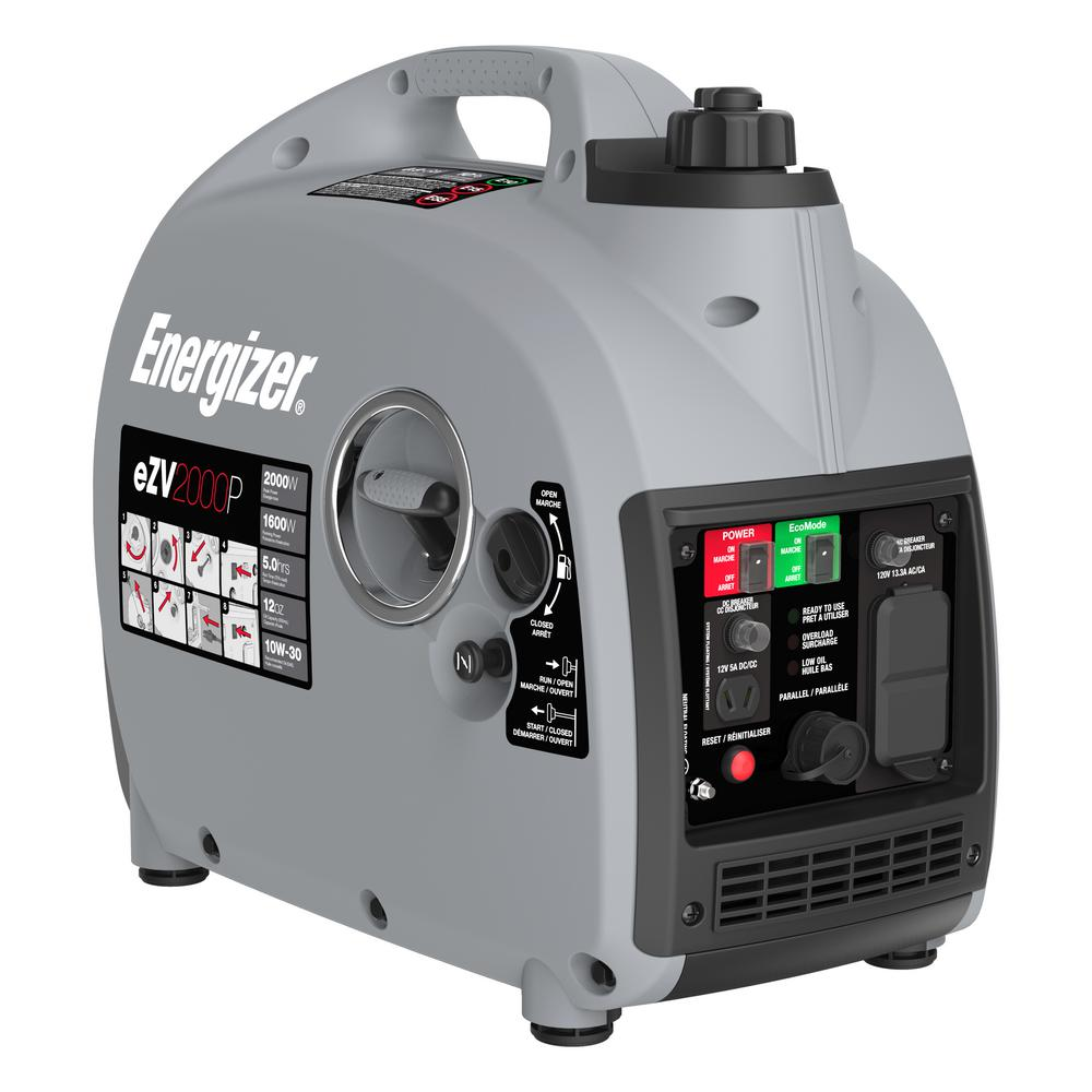 Energizer 1600-Watt Gasoline Powered Portable Generator w...