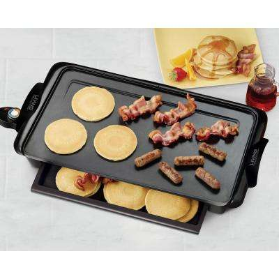 Living Collection Non-Stick Electric Griddle