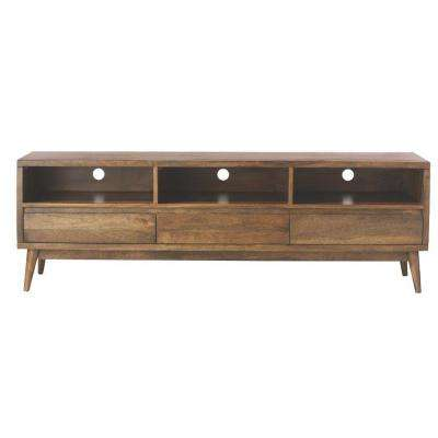 solid wood tv stand Solid Wood   TV Stands   Living Room Furniture   The Home Depot solid wood tv stand