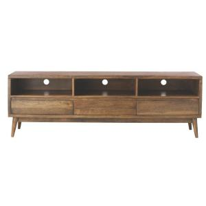 Conrad Antique Natural Entertainment Center