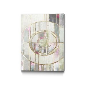 Clicart 18 In X 24 In Blush Deco I By Pi Studio Wall Art Pipg590 1824mm The Home Depot