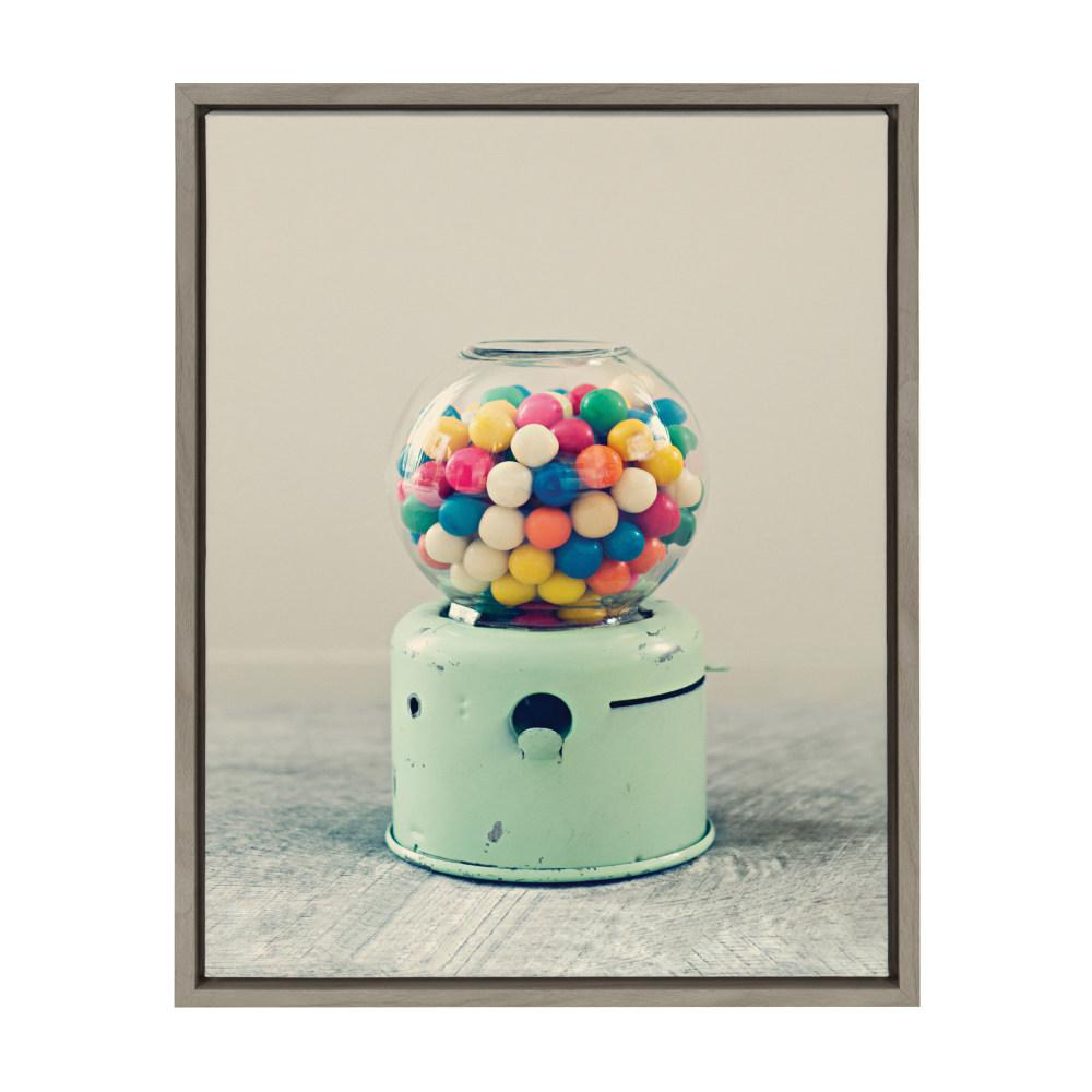 """Sylvie """"Candy Store"""" by F2Images Framed Canvas Wall Art"""