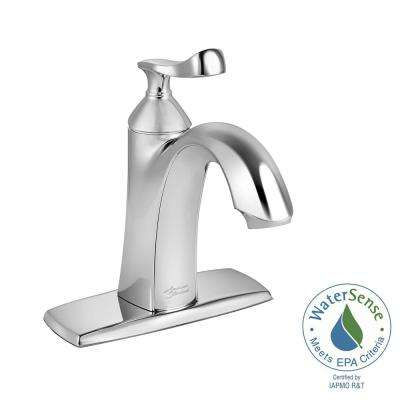 Chatfield Single Hole Single-Handle Bathroom Faucet in Polished Chrome