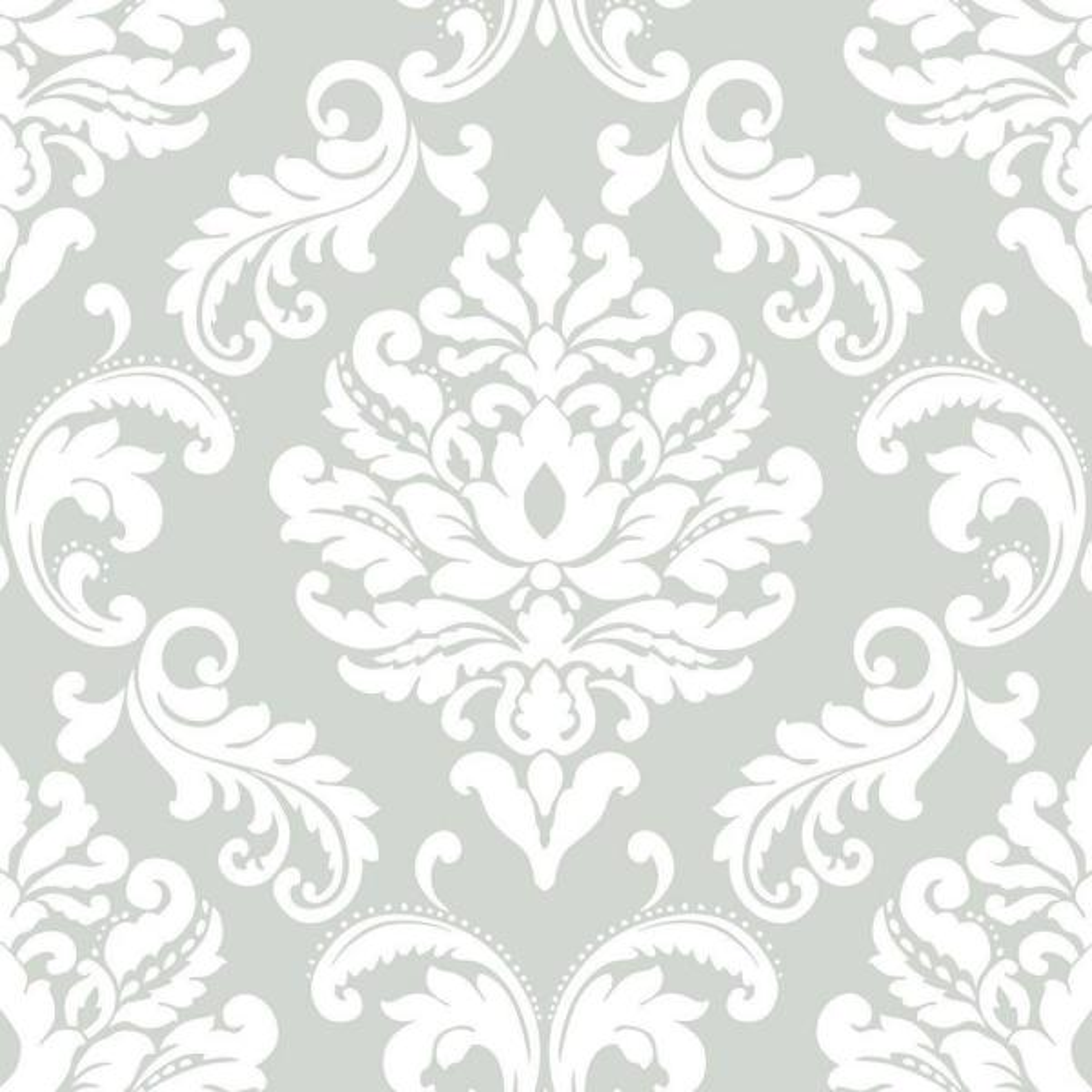 NuWallpaper Grey Ariel Peel and Stick Wallpaper NU1935