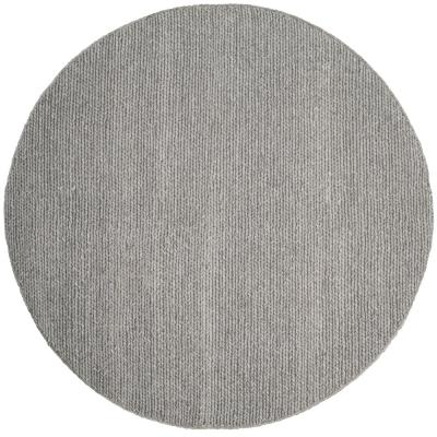 Natura Steel 6 ft. x 6 ft. Round Area Rug