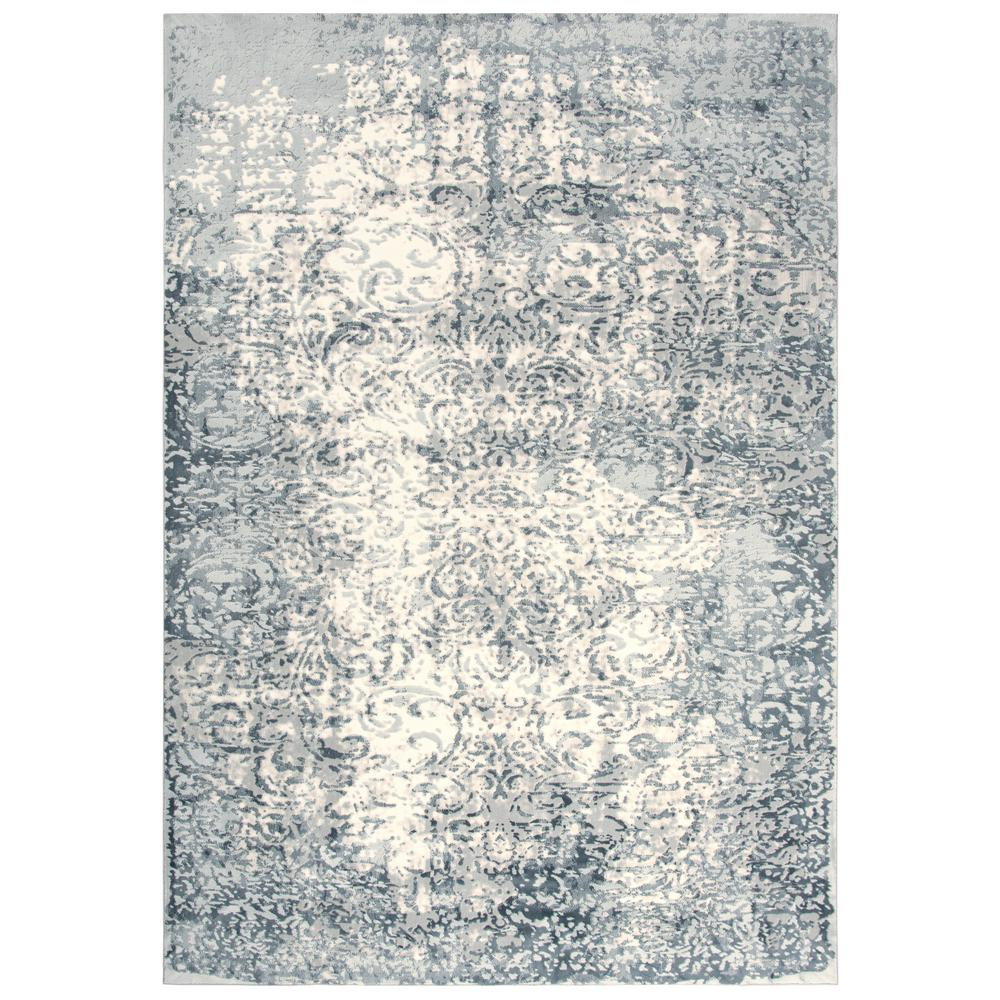 Glamour Cream/Gray 5 ft. 3 in. x 7 ft