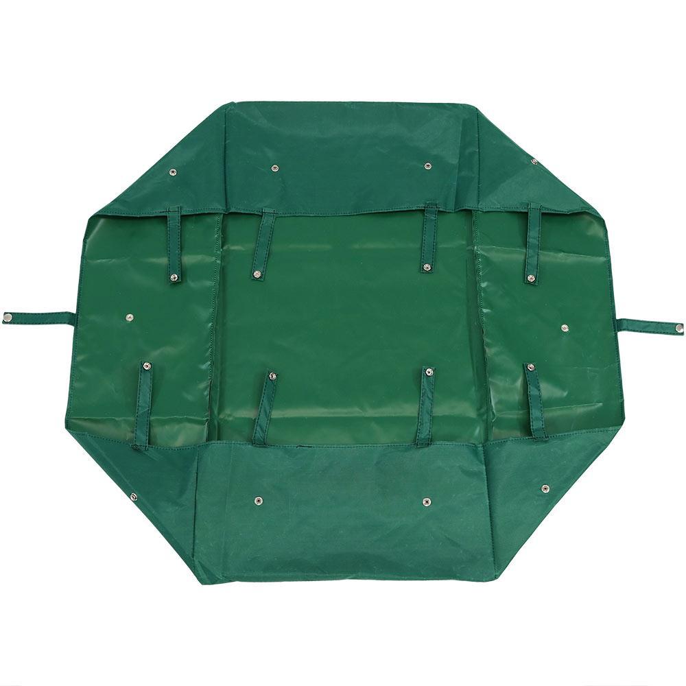 Green Vinyl Heavy-Duty Dumping Utility Cart Liner
