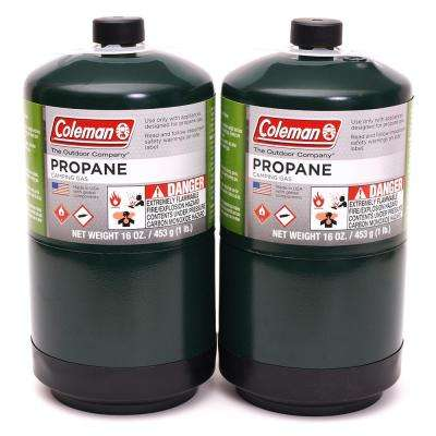 1 lb  Coleman Propane Gas Cylinder (2-Pack)