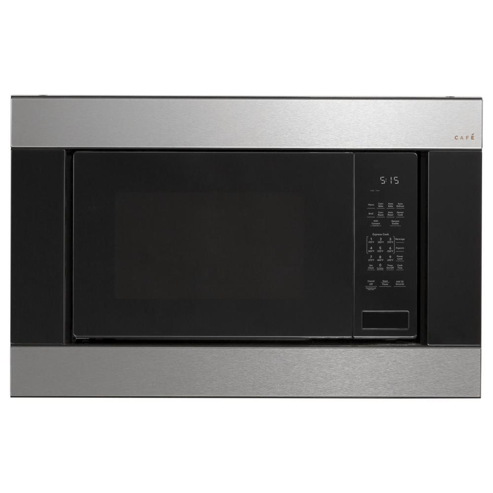 Cafe 1.5 cu. ft. Countertop Convection Microwave in Platinum Glass with Sensor Cooking