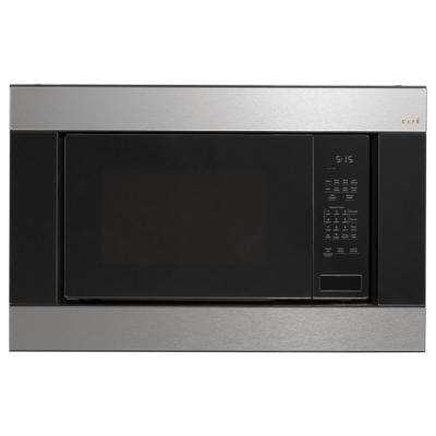 1.5 cu. ft. Countertop Convection Microwave in Platinum Glass with Sensor Cooking
