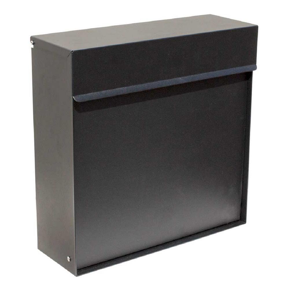 Qualarc Covina Locking Mailbox Wf P015 The Home Depot