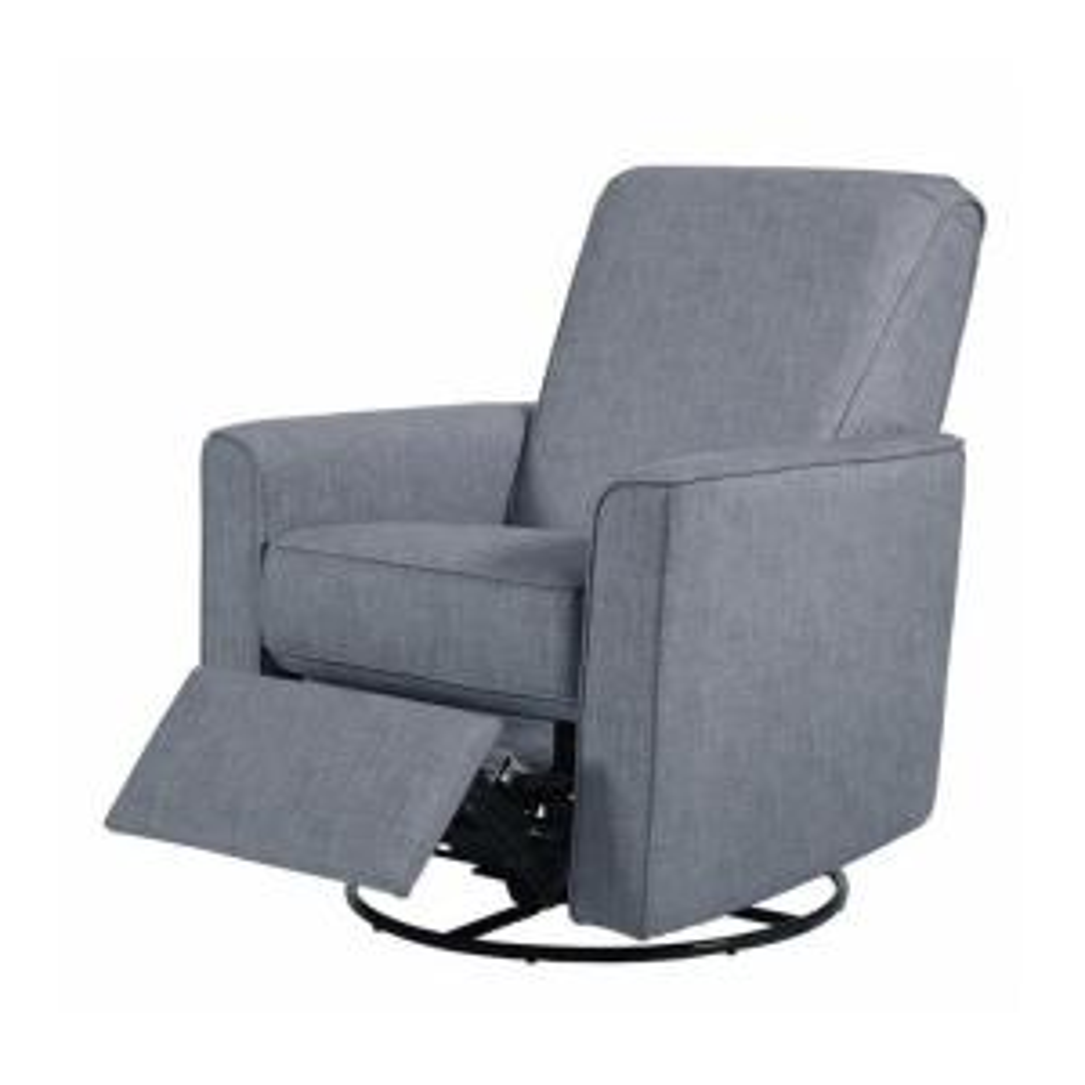 Astonishing Pri Harmony Carlton Dove Gray Fabric Swivel Glider Recliner Bralicious Painted Fabric Chair Ideas Braliciousco