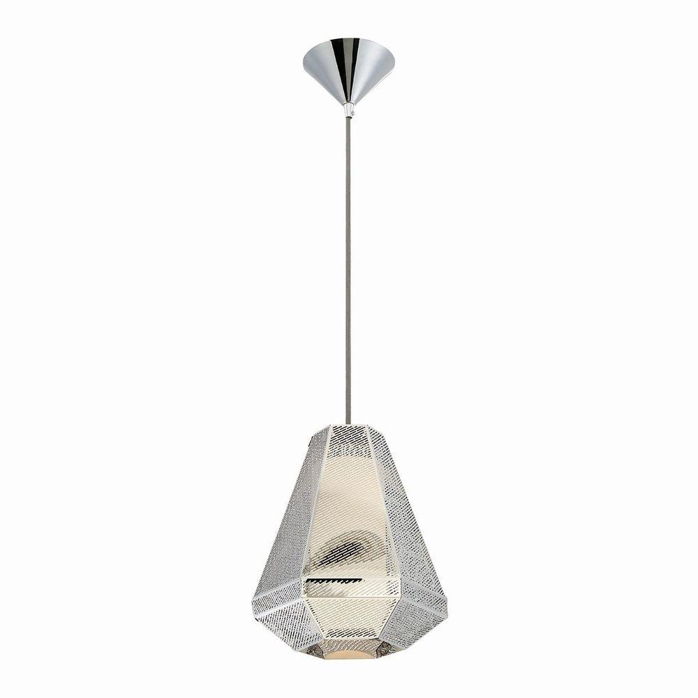 Home Decorators Collection 1-Light Chrome Pendant