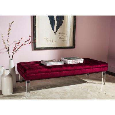 Abrosia Red Bench