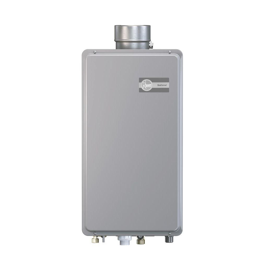 Rheem EcoSense 6.4 GPM Liquid Propane Gas Mid Efficiency Indoor Tankless Gas Water Heater