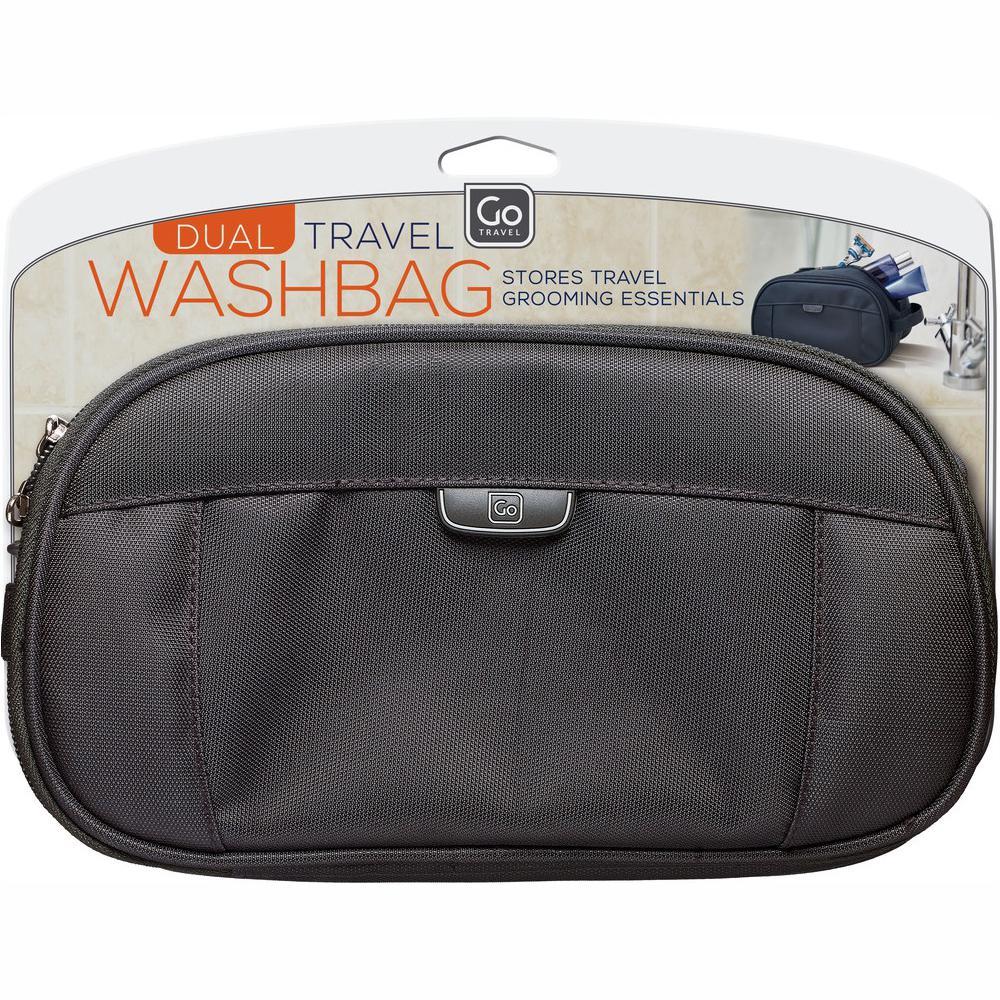 Go Travel Dual Washbag 645BLK