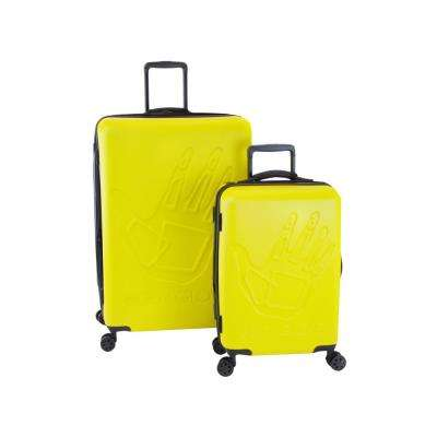 Redondo 2-Piece Yellow Hardside Luggage Set