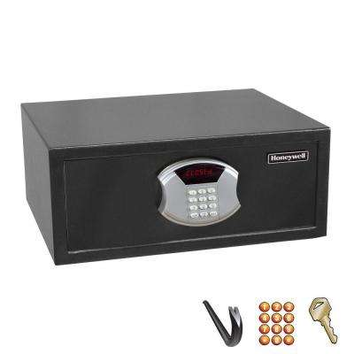 0.64 cu. ft. Steel Pull Out Drawer Safe with Electronic Lock and LED Display, Black