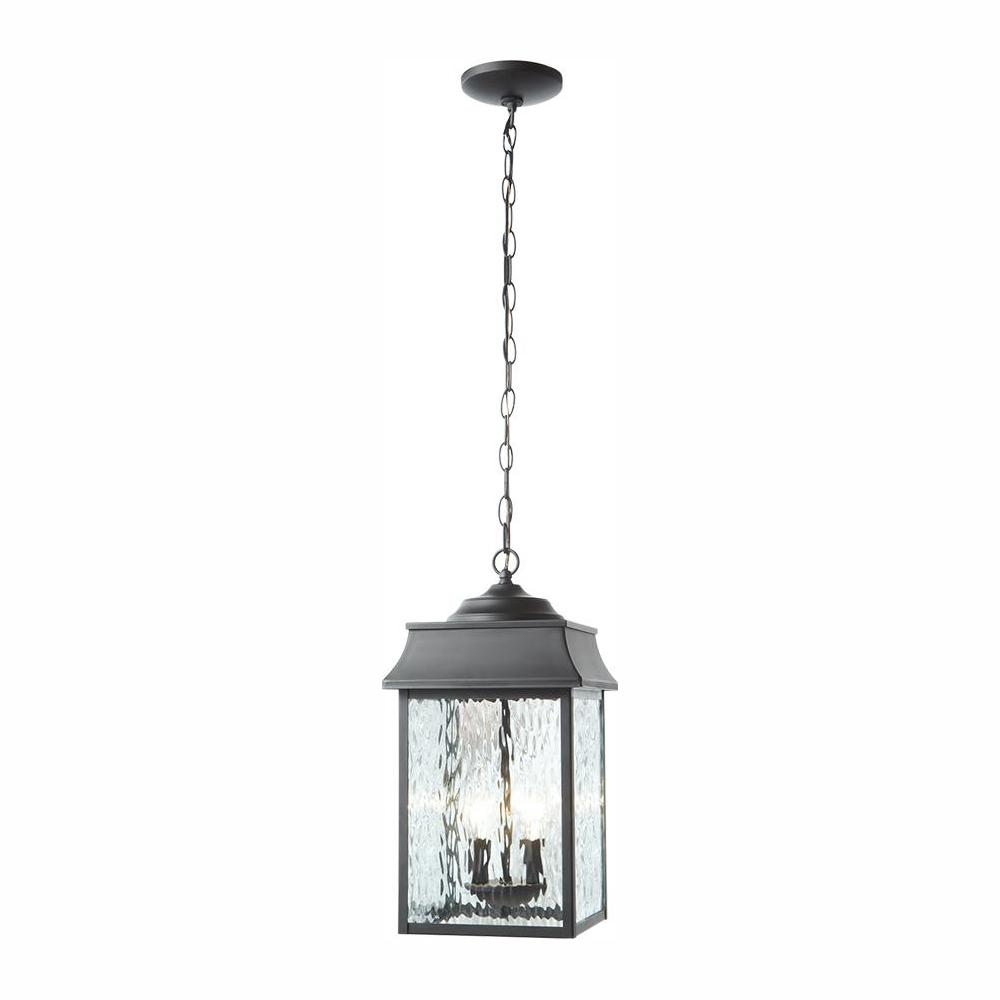 Home Decorators Collection Scroll Black 2-Light Large Hanging Lantern was $107.96 now $74.99 (31.0% off)