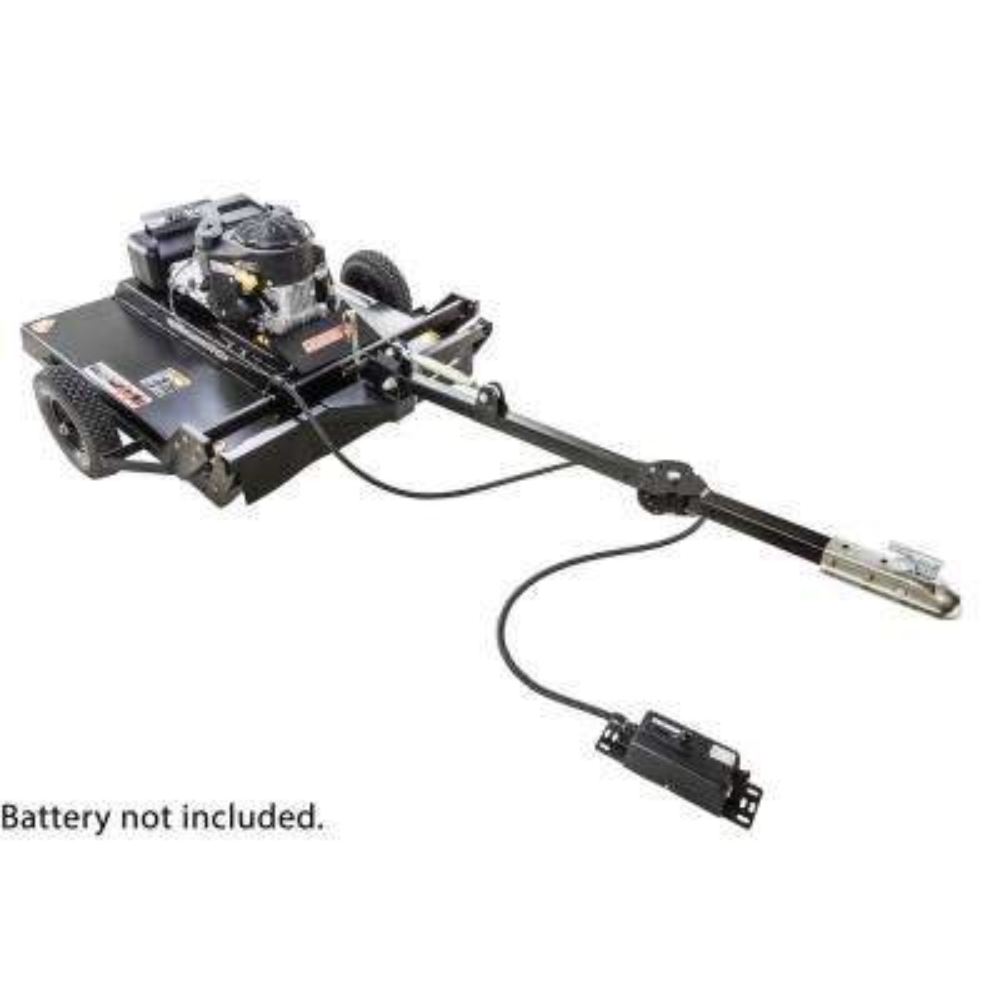 Commercial Pro 44 in. 14.5-HP 12-Volt Kawasaki Pull-Behind Rough Cut Lawn Mower Trail Cutter