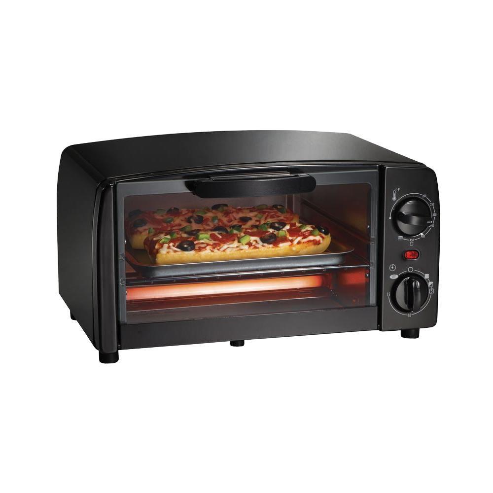 Proctor Silex Black Toaster Oven by Proctor Silex