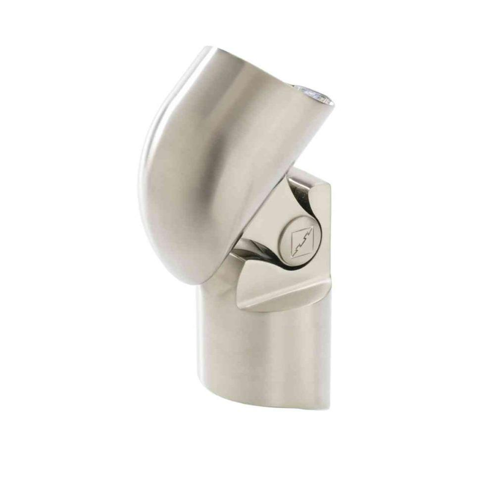 Gourmet Brushed Nickel Bottom Connector