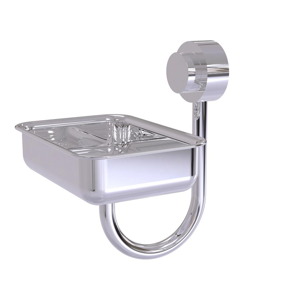 Venus Collection Wall Mounted Soap Dish in Polished Chrome