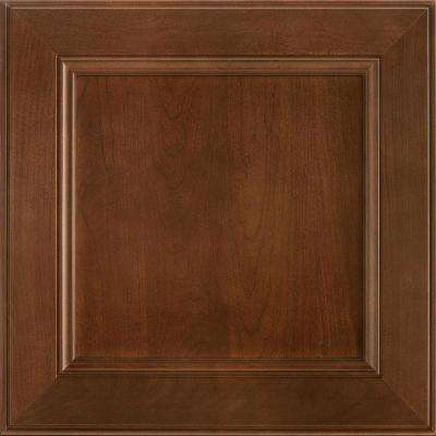 14-9/16 x 14-1/2 in. Cabinet Door Sample in MacArthur Cherry Spice