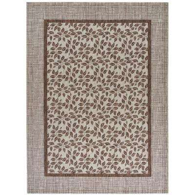 Country Side Natural 10 ft. x 13 ft. Indoor/Outdoor Area Rug